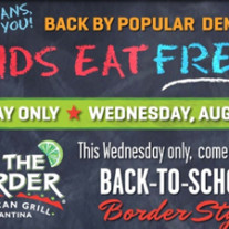 On the Border free queso or sopapillas coupon