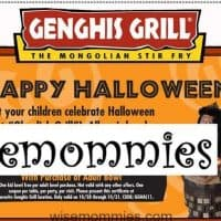 Coupon for Genghis Grill