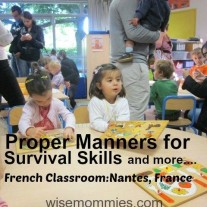Teach your children Manners