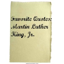 Awesome Quotes from Martin Luther King, Jr.