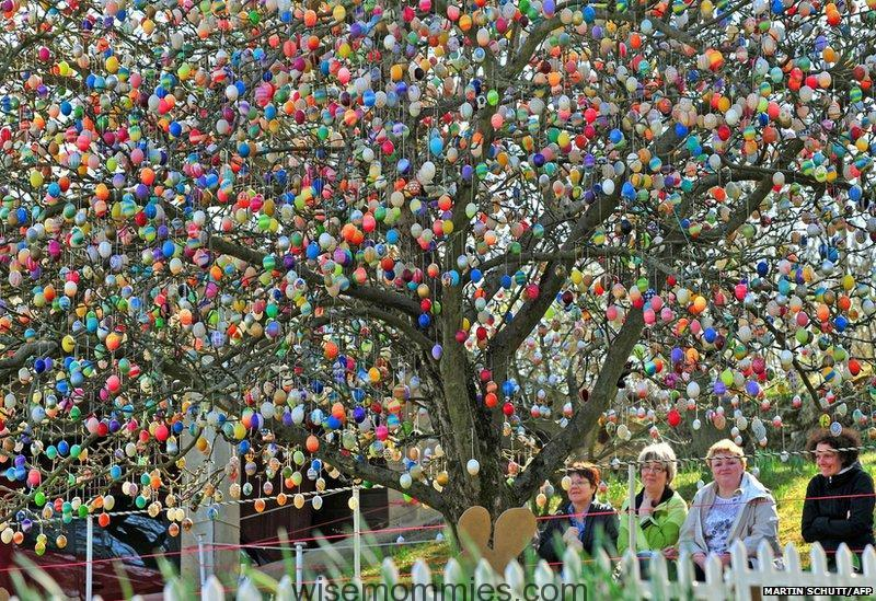 10000 eggs_decorate_this_tree_in_germany_2