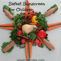 Natural Sunscreen for Children