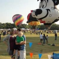 Hot Air Balloon Festival Texas