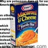 Petition against Kraft to Stop using Food Dyes in Children's Food