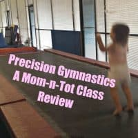 Precision Gymnastics Mom & Tot Class Review