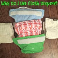 Why Do I Use Cloth Diapers?