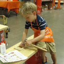 Home Depot FREE Kids Workshops