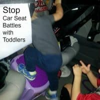 Car Seat Battles with Toddlers