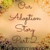 Our Adoption Story Part 2