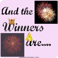 Giveaway Winners for Geppetto's and Holiday Cheer