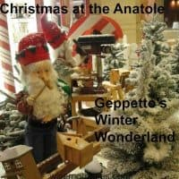 Geppetto's and Christmas at the Anatole Hilton