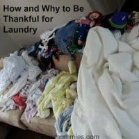 How and Why to be Thankful for Laundry