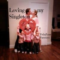 Loving my Singleton this TwinZone Tuesday