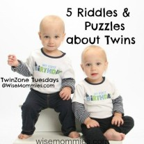 5 Riddles and Puzzles about Twins