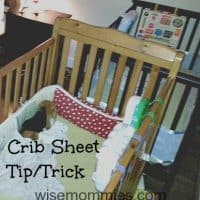 Crib Sheet Tip/Trick to Save Time and One's Sanity
