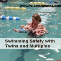 Swimming Safely with Twins and Multiples