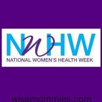 National Women's Health Week May 13-19 2015
