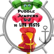 Puddle Jumpers vs Life Vests when Boating