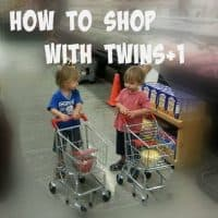 How to Shop with Twins +1