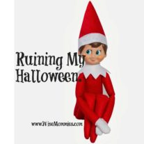 How Elf on the Shelf is trying to Ruin My Halloween