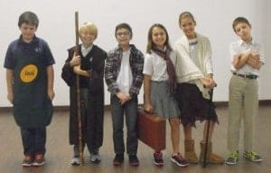 School Review Scofield Christian School : Good Samaritan skit for Chapel
