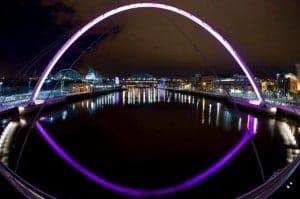 The Millennium Bridge, London