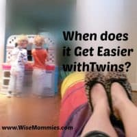 When does Life Get Easier with Twins?