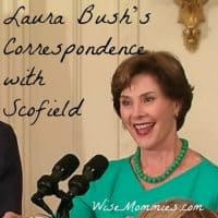 Laura Bush's Correspondence with Scofield
