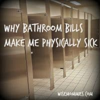Why Bathroom Bills Make Me Physically Sick