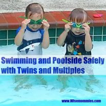 Swimming and Poolside Safely with Twins and Multiples