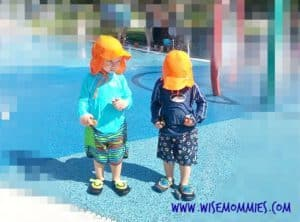 #splashparks #splashpad #sunprotection