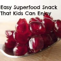 Easy Superfood Snack That Kids Can Enjoy