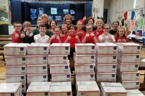 Care Packages created and sent to soldiers