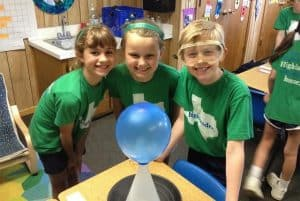 Hands-on science at Highlander School