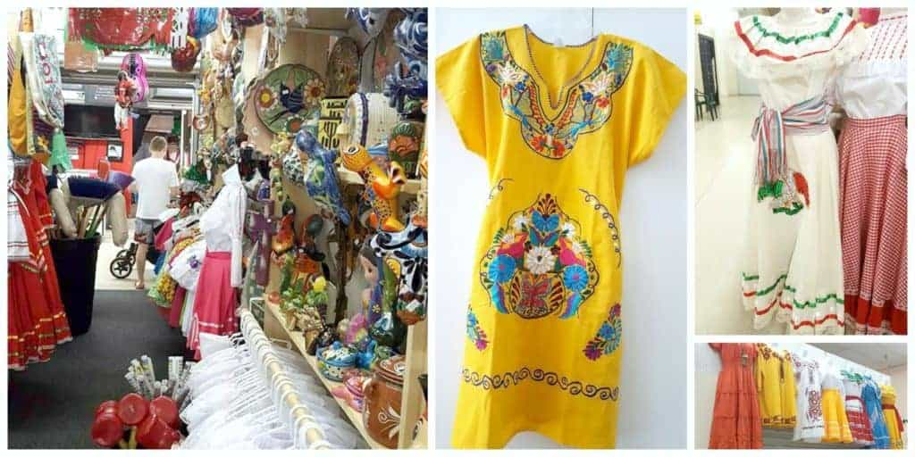 dresses in little Mexico