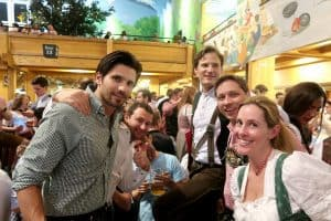 Wiesn fun with family and friends