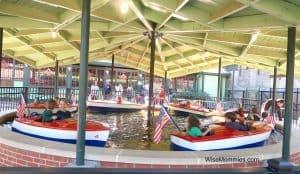 kiddie boats Pullen Park