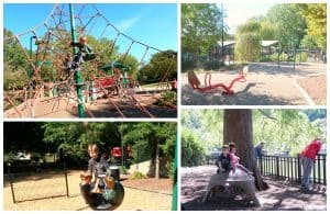 playground at Pullen Park