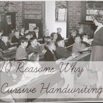 10 Reasons Why Cursive Handwriting Remains Relevant