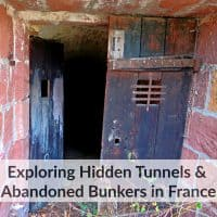 abandoned tunnels and bunkers