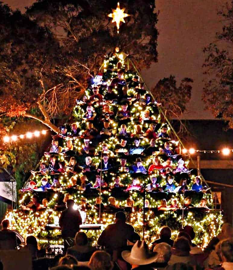 The Best Hallmark Christmas Town in Texas