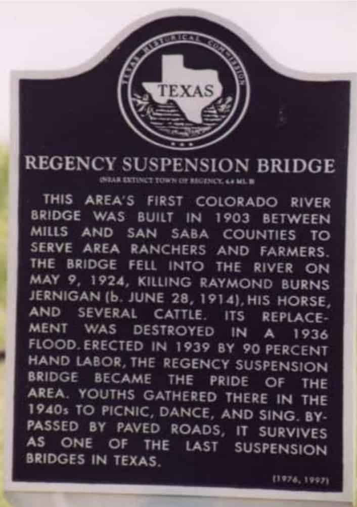 Historical Marker for the Bridge